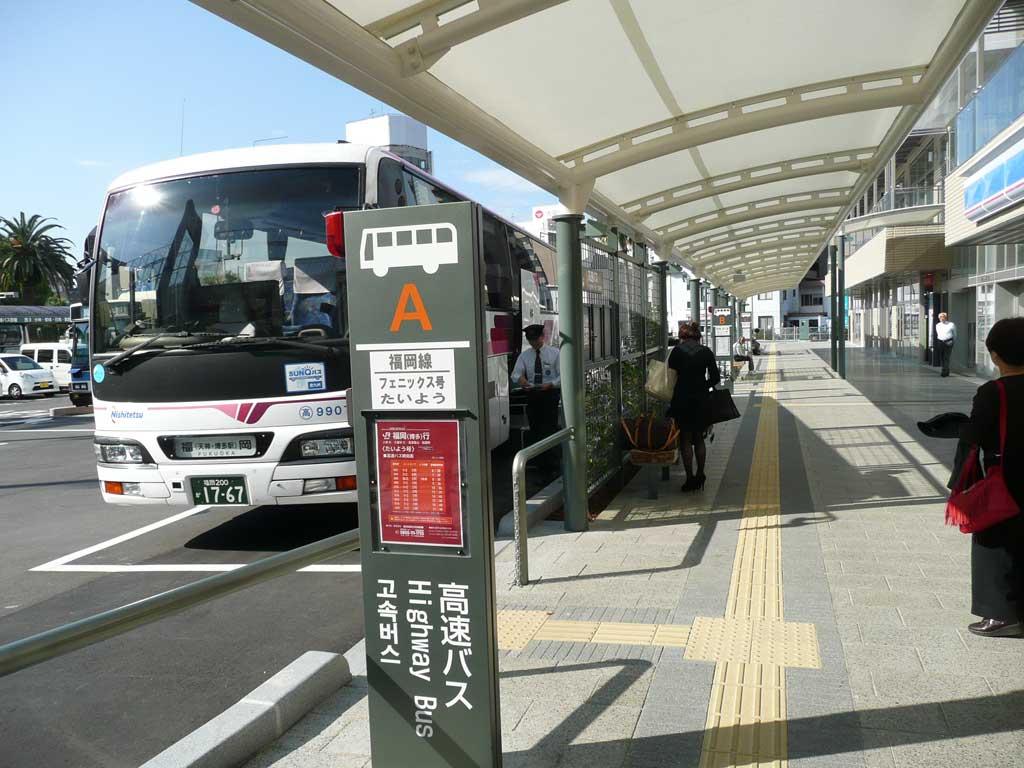 1F高速バス発着場