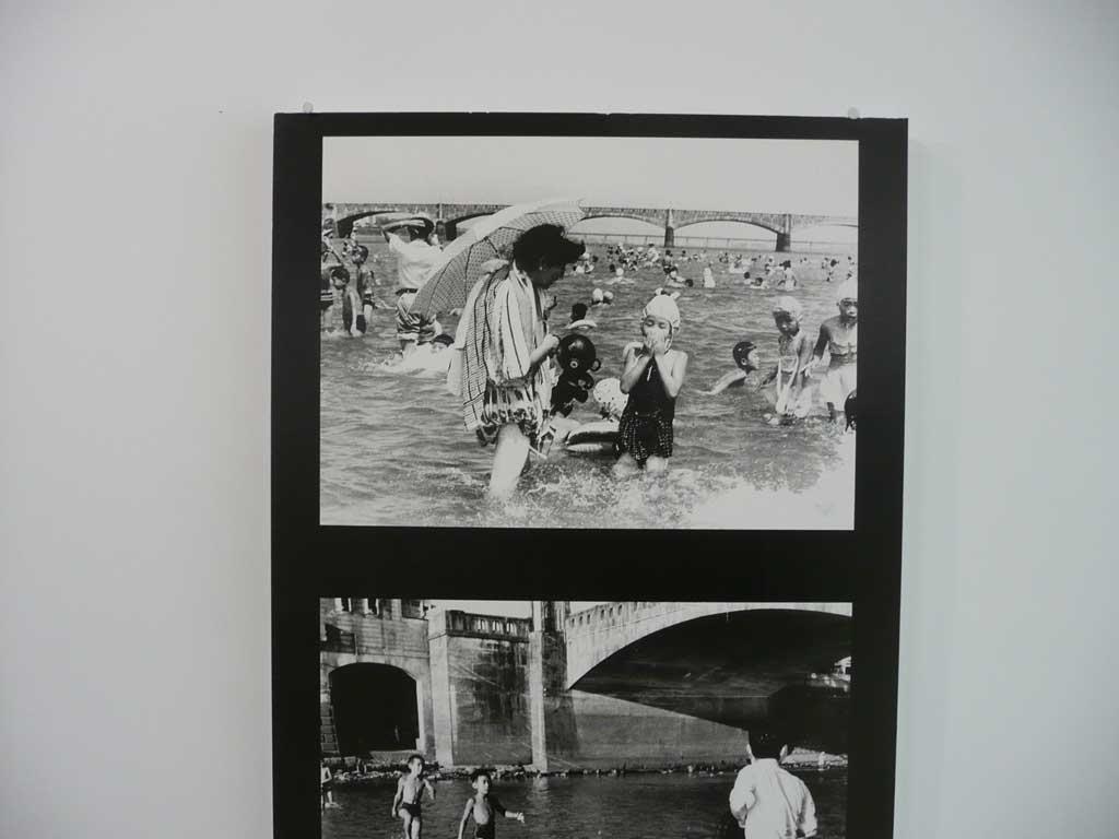 大淀川下流の水泳場