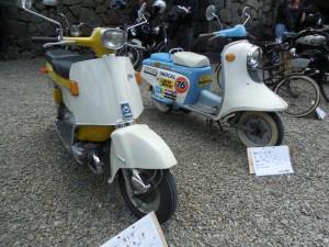ホンダ ジュノオ、ラビットスクーター125CC(富士重工)