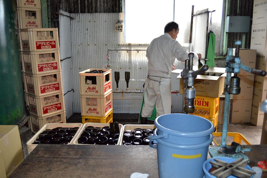 瓶詰め工程