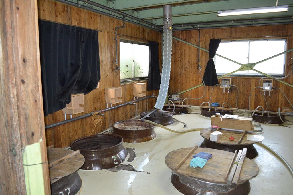 一次発酵室