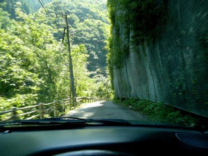 R455山道を五木村へ