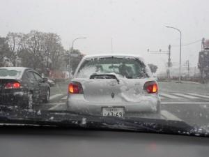 道路は大渋滞