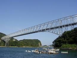 晴れた日の天草五橋、第一橋
