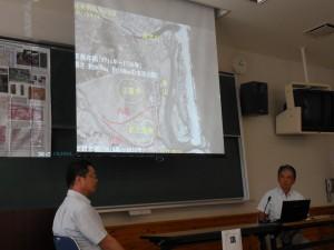 宮崎市の浸水シミュレーション