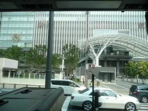 JR博多駅ターミナル到着