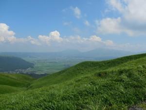 阿蘇外輪山、大観峰より