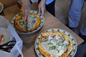 アッチッチのピザ